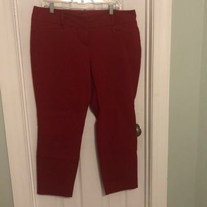 The Limited red pants